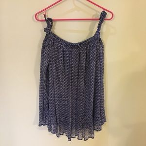 Lucky Brand Cold Shoulder Blouse